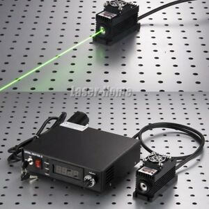 532nm 2w Green Solid Laser Module 2000mw Ttl analog tec Adjustable Power