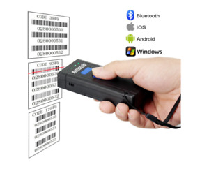 Bluetooth Barcode Scanners Bluetooth Barcode Scanner Handheld Wireless Laser 1d