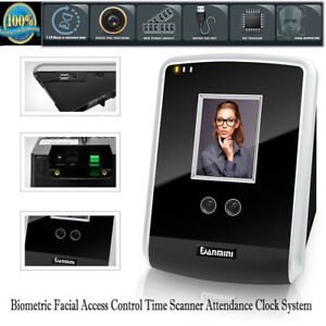 Biometric Face Reader Access Control Time Scanner Attendance Machine Code System