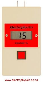 Electrophysics Model Mt700 Digital Moisture Meter