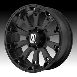 17 Inch Black Wheels Rims Ford F250 F350 Super Duty 8 Lug Truck Excursion Xd800