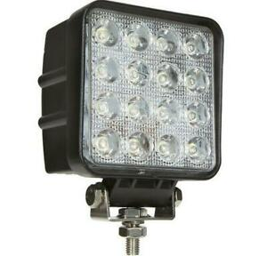48w Led Work Light 5d Lens Truck Offroad Tractor Flood Lights 12v 24v Square