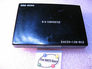 Dac20 12b bcd Burr brown Dac Digital To Analog Converter Module Nos Qty 1