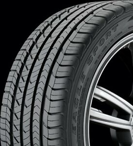 2256016 225 60r16 Goodyear Eagle Sport As Blk 98v New Tire Qty 2