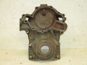 53 54 55 56 Buick 264 322 Nailhead Engine Water Pump Timing Chain Gear Cover
