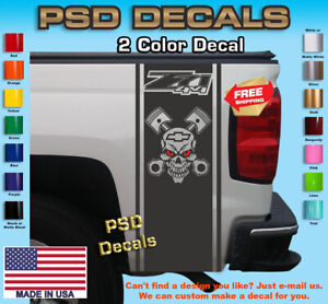 Rear Bed Vinyl Decal Truck Graphics Fits Chevy z71 4x4 T 229