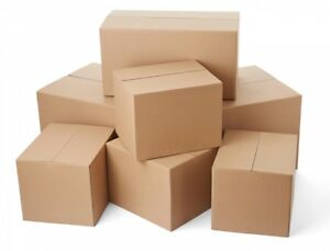 Shipping Moving Boxes corrugated Carton Box 5 200 Pack Free Delivery
