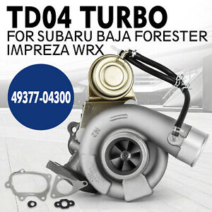 Td04l 13t 6 Turbo Charger For Subaru Baja Forester Impreza Wrx Td04 49377 04300