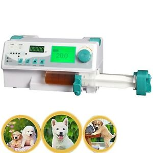 Ce Veterinary Vet Injection Infusion Syringe Pump W Alarm Kvo drug Library Bolus