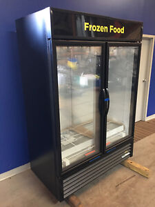 True Gdm 49f hc tsl01 2 Glass Door Freezer New With Warranty