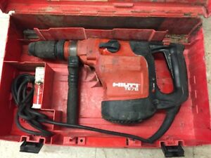 Hilti Te76 atc Rotary Hammer Drill With Case W bits 2825 1