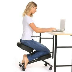 Ergonomic Kneeling Chair Adjustable Stool Home Office thick Comfortable Cushions