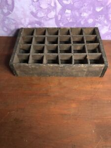 Rare Vintage Dunmore Bott Works Divided Wooden Box Lettieri Bros Props