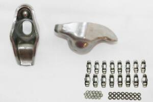 Chevy 262 400 Stamped Steel Nitro carburized Long Slot Rocker Arms 1 6 X 3 8