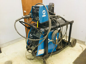 Miller Maxtron 450 Pulse Mig Welder On Cart 240v