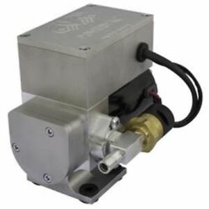 Cvr Performance Vp655 12 Volt 6 Amp Electric Vacuum Pump Clear Anodized
