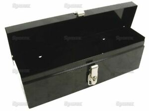 Black Tractor Tool Box 16 X 4 3 4 X 5 Brand New