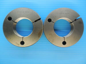 2 360 18 Uns Thread Ring Gages 2 3600 2 36 Go No Go P d s 2 3239