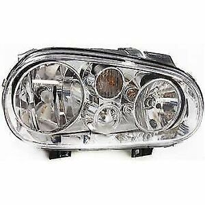 For 1999 2002 Volkswagen Golf Passenger Right Headlight Without Fog Lamps 23896