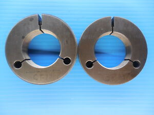 2 16 Nf 3 Thread Ring Gages 2 00 Go No Go P d s 1 9594 1 9551 Inspection