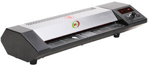 Pouch Laminator Machine 13 Hot Cold Table Top Heavy Duty Digital Display