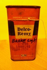 Nos Delco Remy Stoplight Switch D 866 1998192