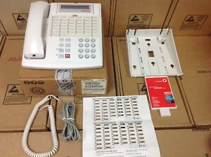 Avaya Lucent Partner 34 Button White Business Phone 107305062 7515h04a 264 New