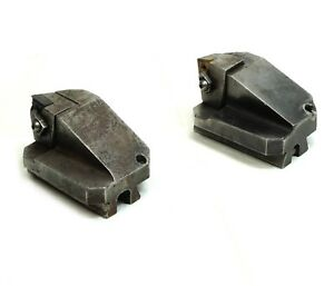 Set Of 2 Valenite Vari set Vari twin Indexable Boring Head Tw hbn With Insert