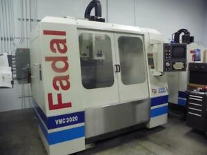 Fadal Vmc 3020 Cnc 3 axis Vertical Machining Center 2000