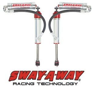 Sway a way 2 5 Front Remote Reservoir Shock Kit Pair For 97 17 Nissan Patrol Y61