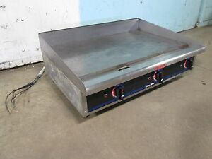 star Max 536tgd Heavy Duty nsf Commercial 36 w 208 240v 3ph Electric Griddle