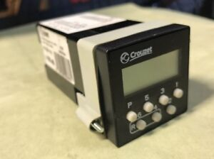 Crouzet Predetermining Counter Lcd Controller 87620113 Cpt4 115vac Ready To Run