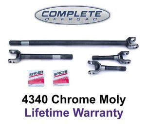 W24118 4340 Chrome moly Replacement Axle Kit For 79 87 Gm 8 5 1 2 Ton Truck