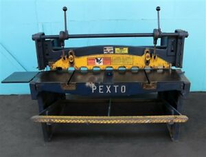 Pexto 52 X 16 Gauge Heavy Duty Gap Foot Shear 6 52 b