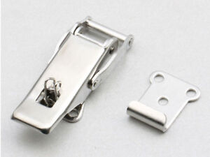 3 Self Locking Stainless Steel Draw Latch With Spring Toggle Latch