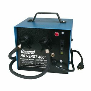 General Pipe Cleaners Hs 400 400 amp Hotshot Pipe Thawer