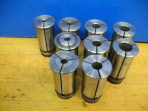 9 Nikken 1 1 4 Bushings Boring Bar Cnc Mill 1 4 5 16 1 2 5 8 3 4 vgc