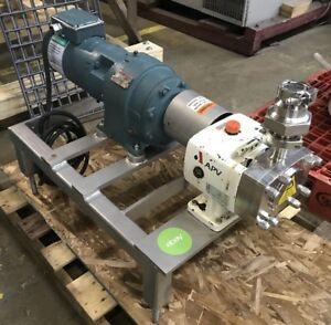 Apv Crepaco M series Positive Displacement Rotary Pump M 1 11 01 2 20