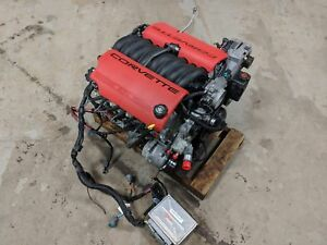 Ls6 Engine Corvette 5 7 Liftout Complete 68k Tested 90 Day Warranty 385 Hp Ls1