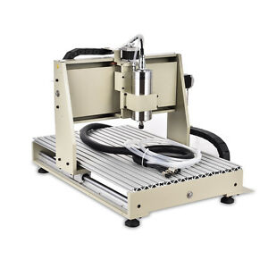 3 Axis 6040 Cnc Router Engraver Engraving Milling Drilling Cutter Machine Vfd Us