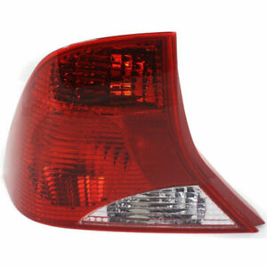 New Tail Light Lens And Housing Driver Side Fits 2001 2002 Ford Focus Fo2800177
