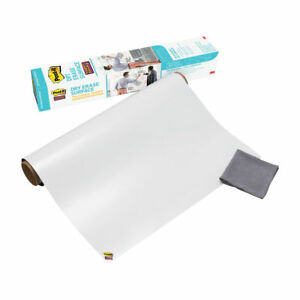 Post it Film Dry Erase Surface 6 Ft X 4 Ft Great For Tables Desks def6x4