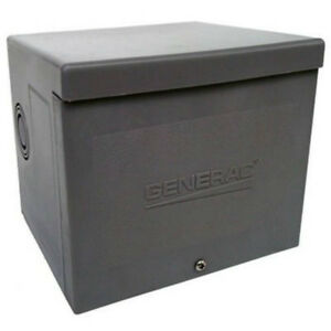 Generac 6337 Resin Power Inlet Box For Generators Up To 8000w 30a