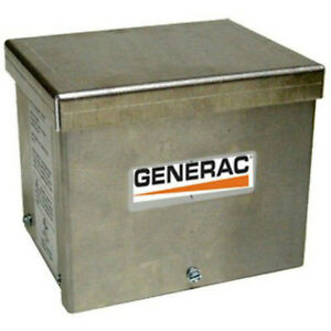 Generac 6343 Aluminum Power Inlet Box For Generators Between 5500w