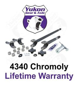 Ya W26012 4340 Chrome moly Replacement Axle Kit For Dana 60 78 79 Ford