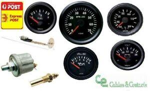 Vdo Cockpit Vision Gauge Kit 85mm Tacho Oil Temp Volt Fuel All Senders