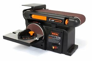 WEN 6502 4 x 36-Inch Belt and 6-Inch Disc Sander with Cast Iron Basebeltsander