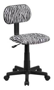 Computer Chair With Zebra Print id 3107058