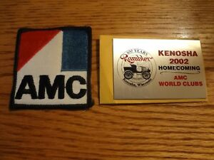 Amc American Motors Nos Patch From The Kenosha Assembly Plant And Plaque