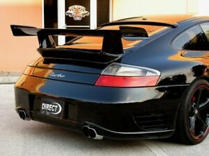 2001 2005 Porsche 911 996 Turbo Gt3 Rs Style Rear Tail Base Wing Unpainted